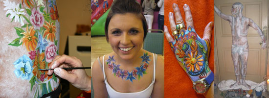 Body Painting Body Art Huddersfield Leeds Yorkshire