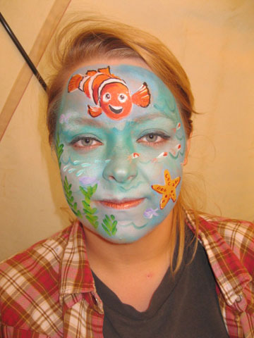 Adult Face Painting Huddersfield Leeds Yorkshire